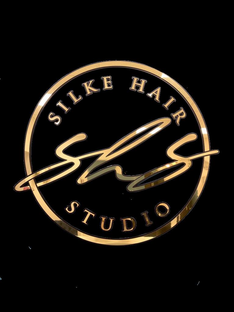 silke hair studio official logo