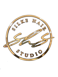 silke hair studio official logo